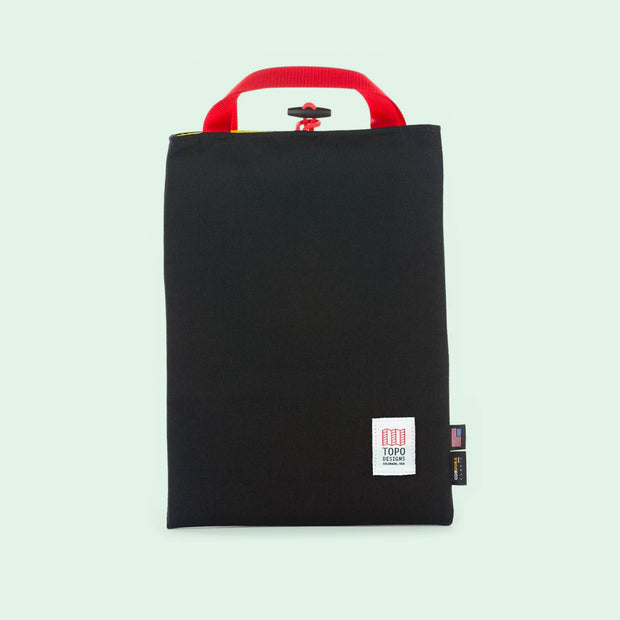 Topo Laptop Sleeve - Black