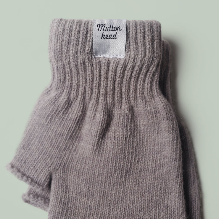 Fingerless Gloves - Grey