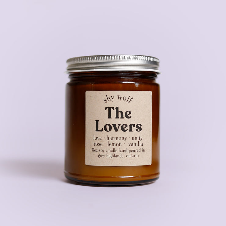 Shy Wolf Candles - The Lovers