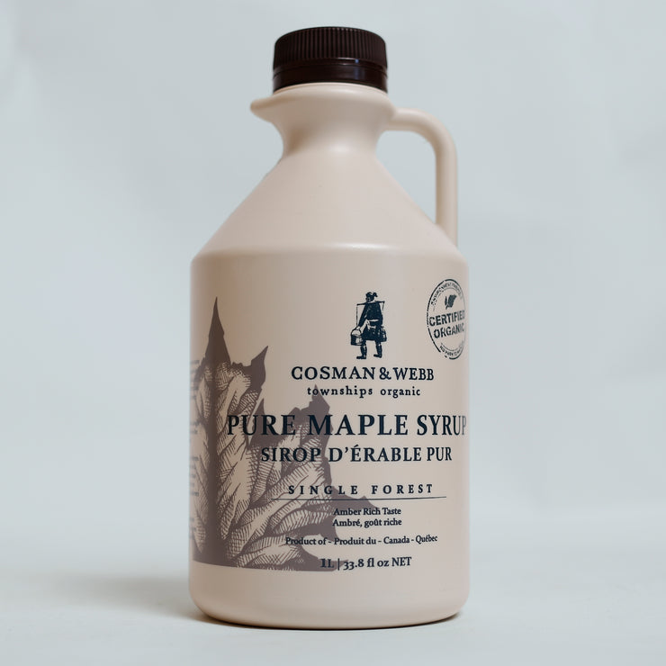 Cosman & Webb Townships - Organic Maple Syrup 1 Litre
