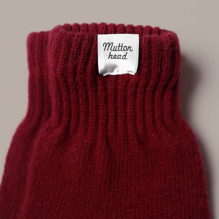 Gloves - Maroon