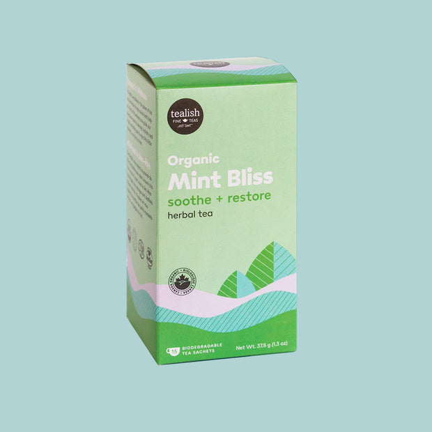 Tealish - Organic Mint Bliss Tea