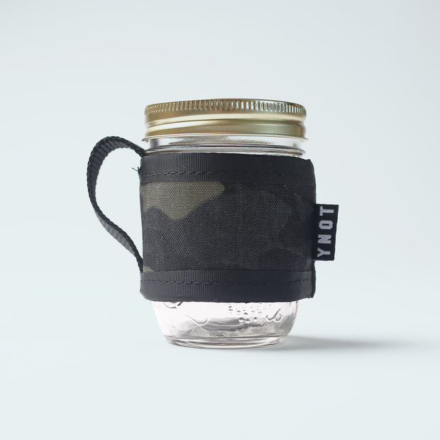 YNOT - Coffee Cozy & Mason Jar - Multicam