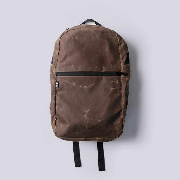 YNOT - Deploy Waxed Backpack - Oak Waxed Canvas