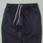 Sweatpants - Cross Stitch Quilt Navy