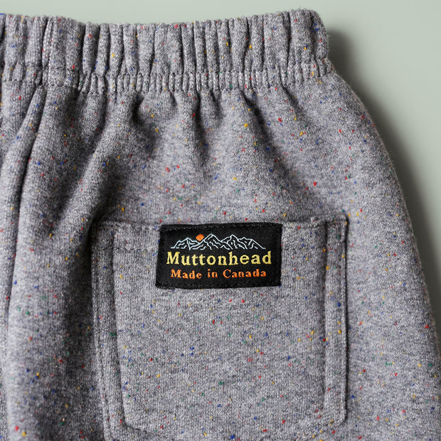 Kids Sweatpants - Heather Grey Rainbow Speckle