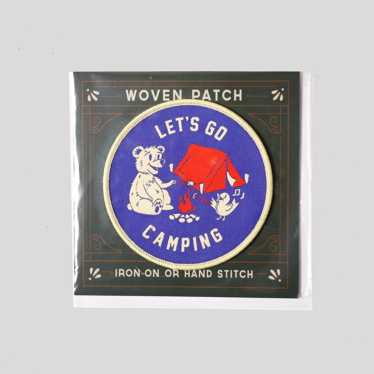 Good & Well - Let's Go Camping Patch