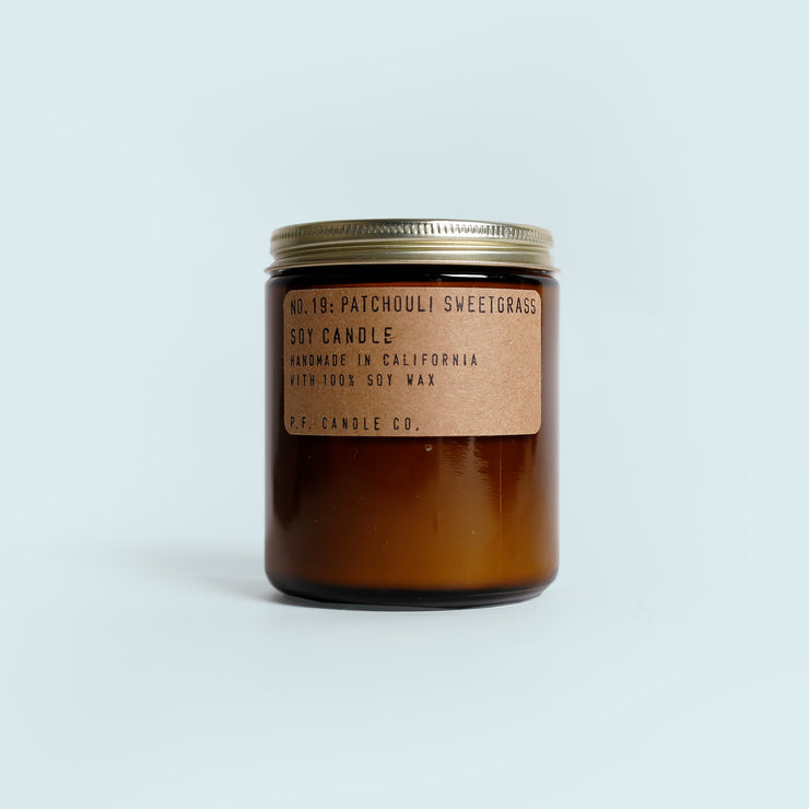 P.F Candle Co. - Patchouli Sweetgrass Candle