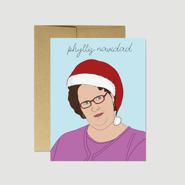 Phyllis Navidad Card - Party Mountain Paper Co.