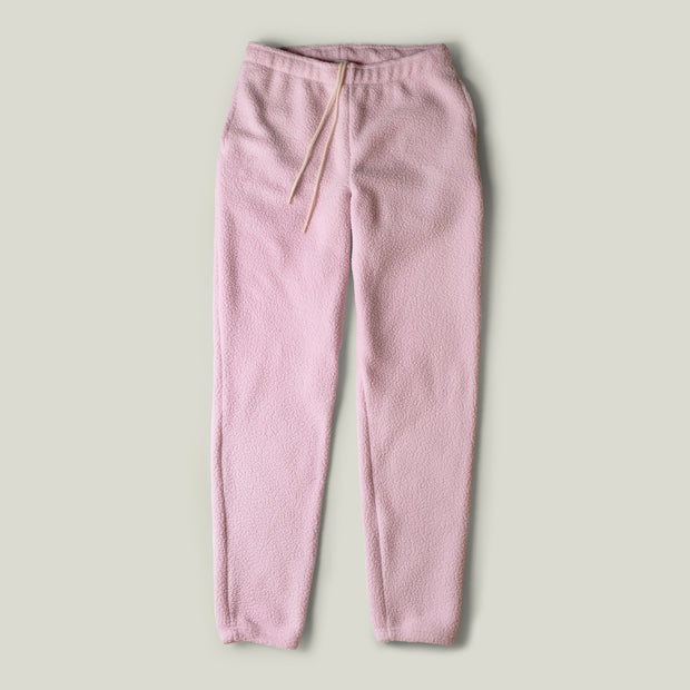 Sweatpants - Pink Sherpa