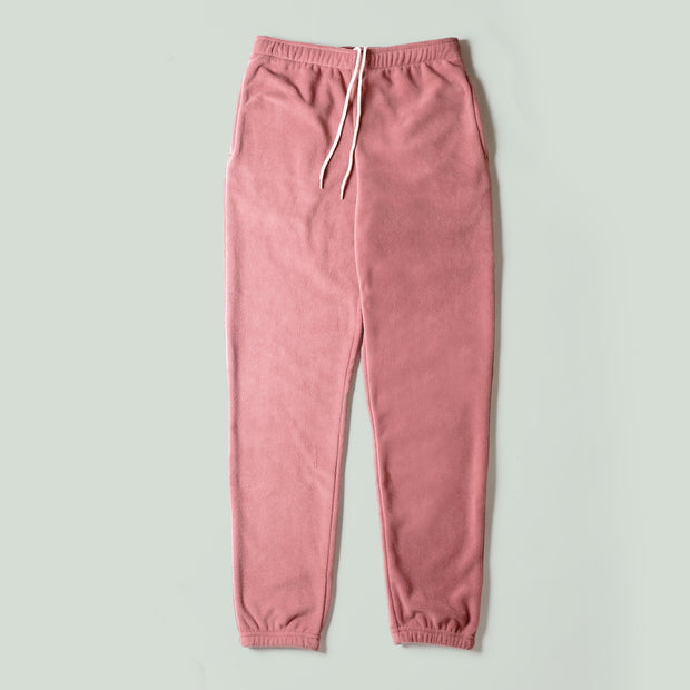 Sweatpants - Recycled Fleece Blush