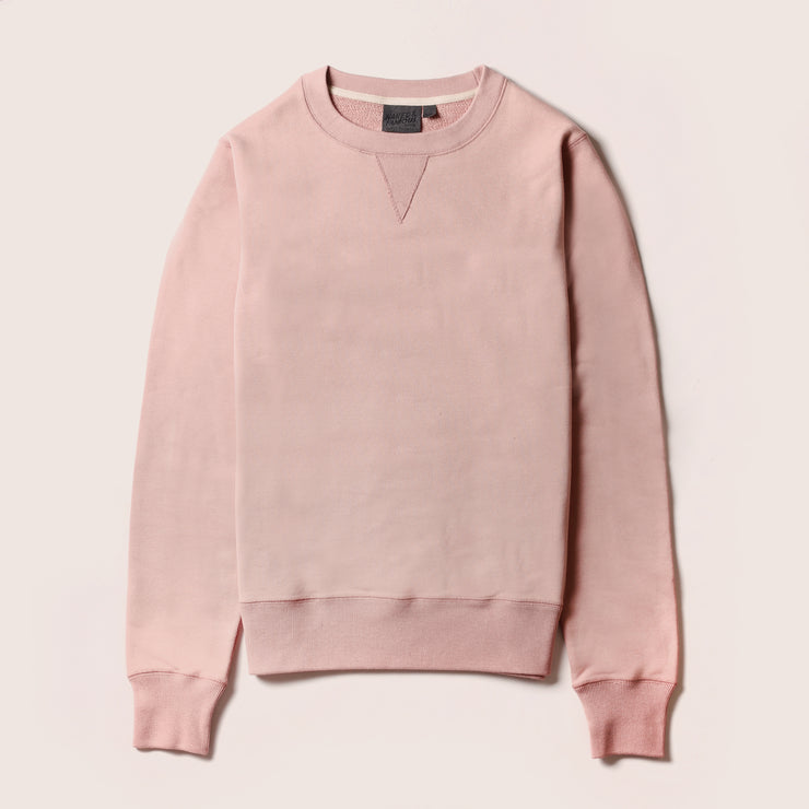 Naked & Famous Crewneck - Heavyweight Terry - Blush