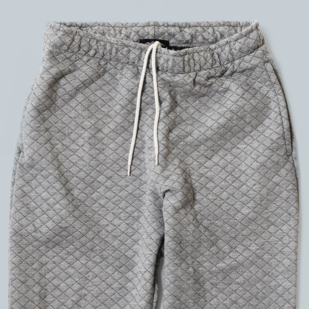 Sweatpants - Grey Quilt