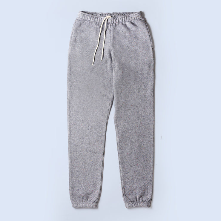 Sweatpants - Heather Grey Rainbow Speckle