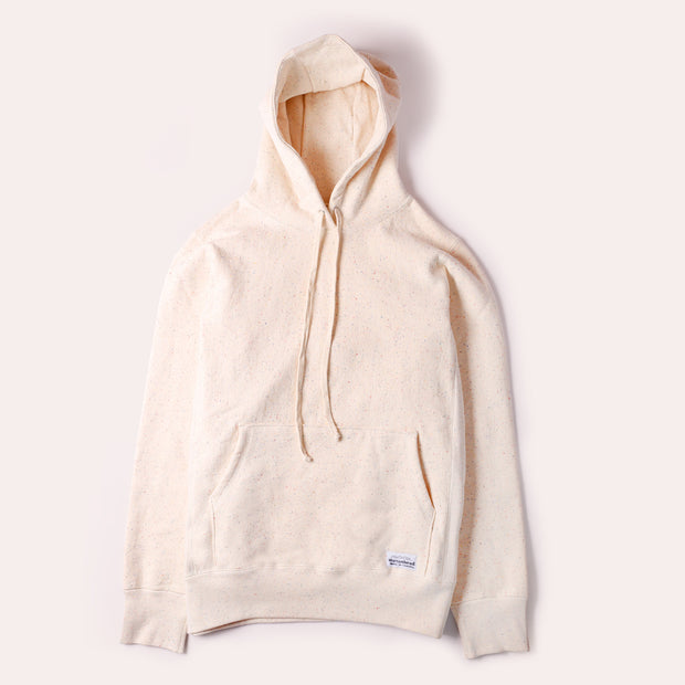 Pullover Cabin Hoodie - Natural Rainbow Speckle