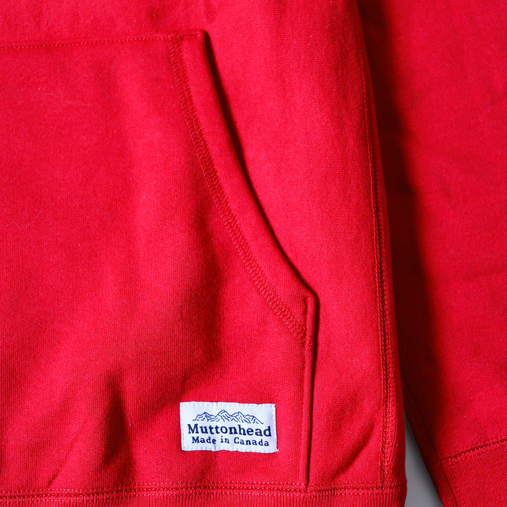 Pullover Cabin Hoodie - Red