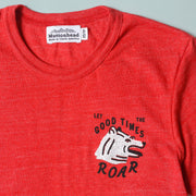 Recycled Tee - Let the Good Times Roar - Heather Red