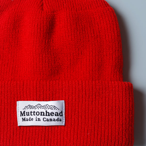 Alpine Knit Toque - Maple Red