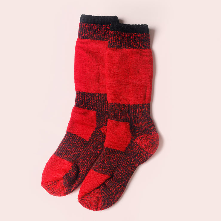 Back Country Sub - Zero Socks Red