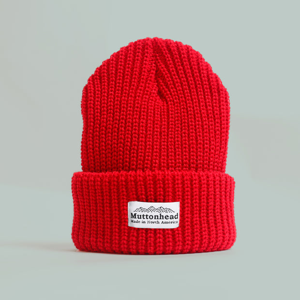 Chunky Toque - Red