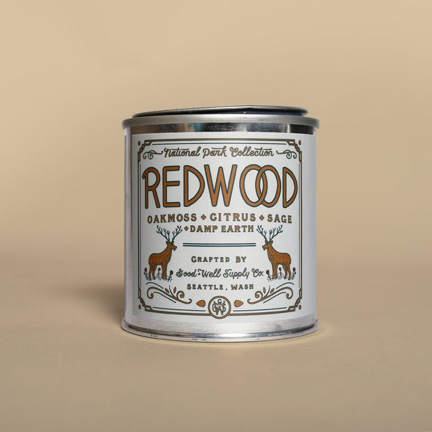 Good & Well - Redwood Candle 8oz