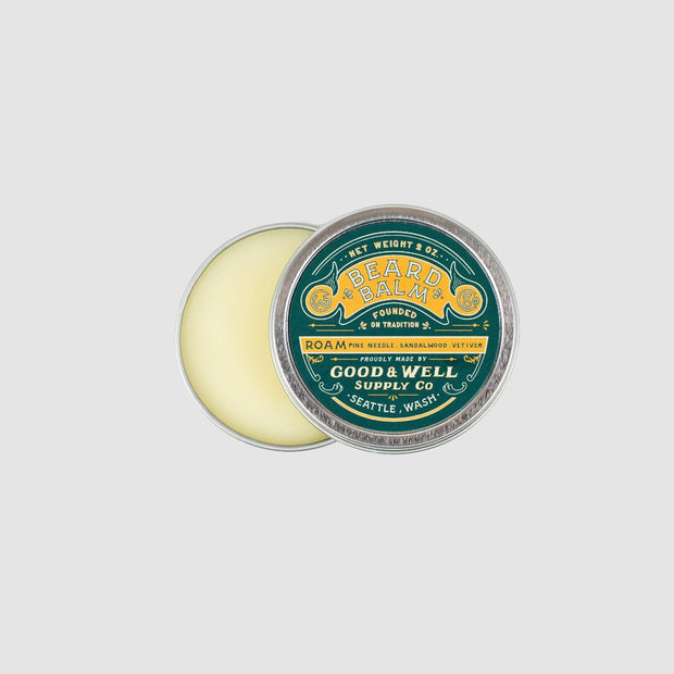 Good & Well - Beard Balm - Roam