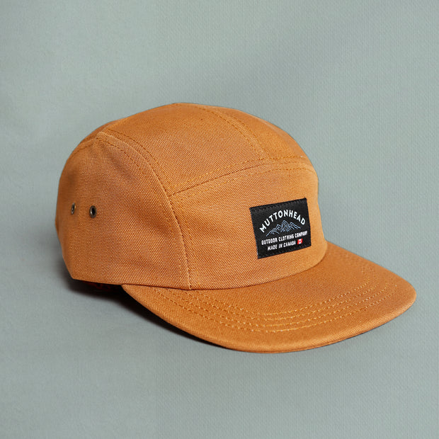 5 Panel - Mountain Patch - Rust Canvas