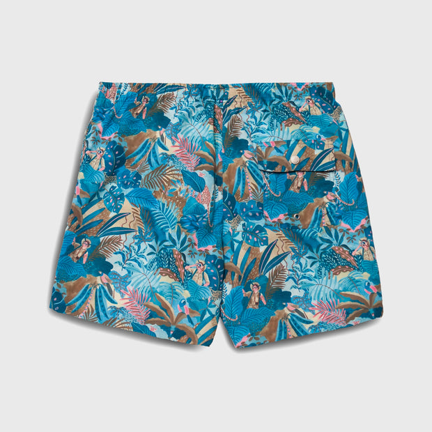 Bather Swim Shorts - Multi Watercolour