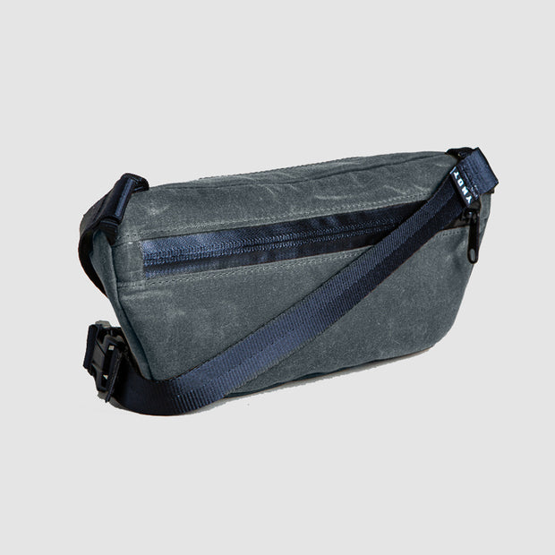YNOT Sling Pack - Charcoal Waxed Canvas