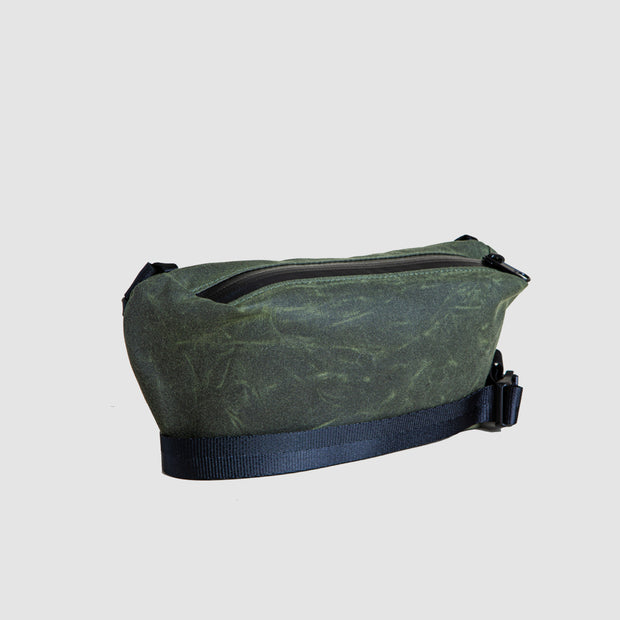 YNOT Sling Pack - Olive Waxed Canvas