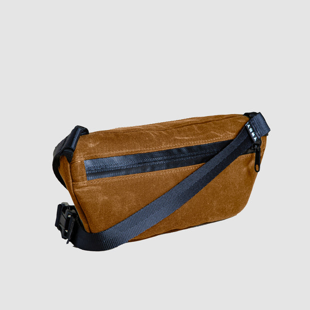 YNOT Sling Pack - Toffee Waxed Canvas
