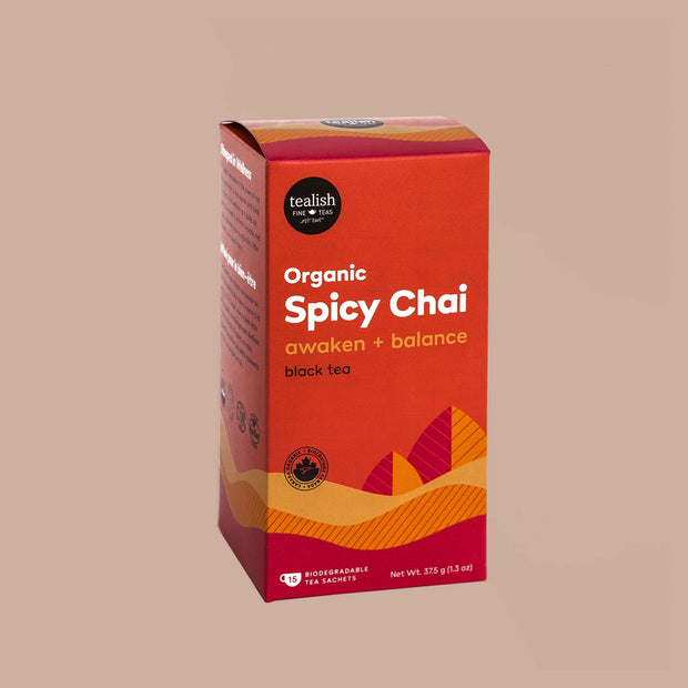 Tealish - Organic Spicy Chai Tea