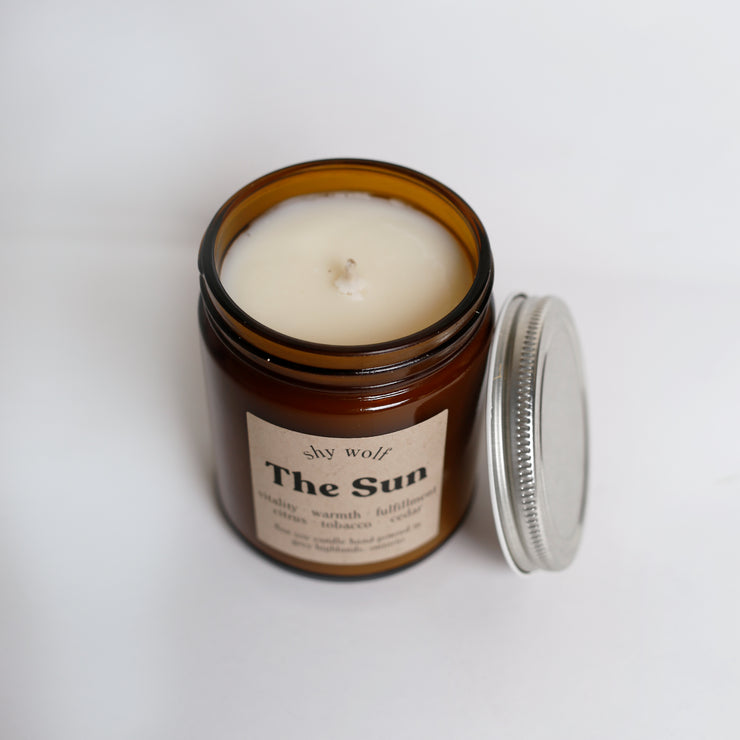 Shy Wolf Candles - The Sun