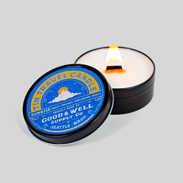 Good & Well - Sunrise Travel Candle