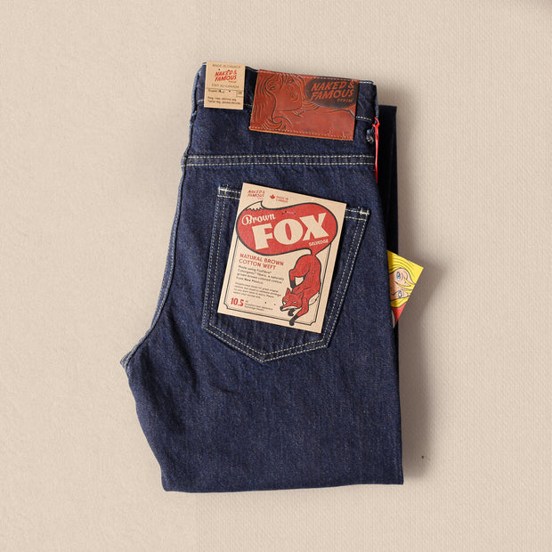 Super Guy - Brown Fox Selvedge