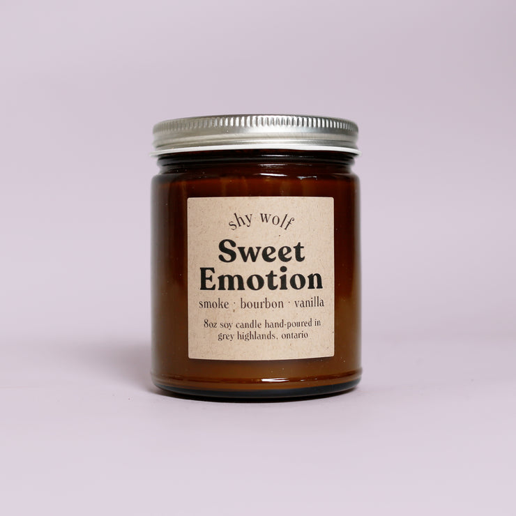 Shy Wolf Candles - Sweet Emotion