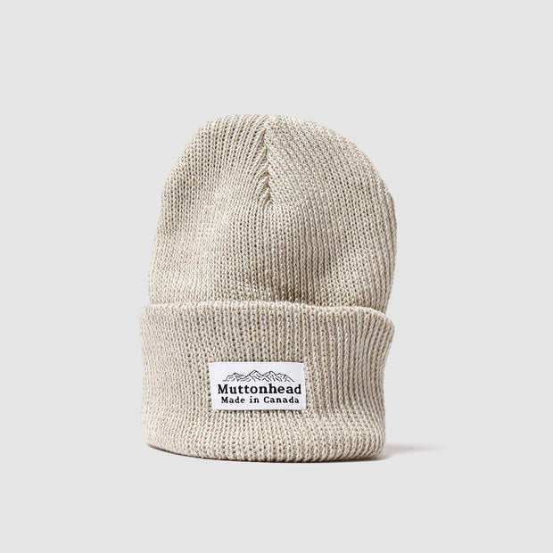 Cotton Knit Toque - Tan