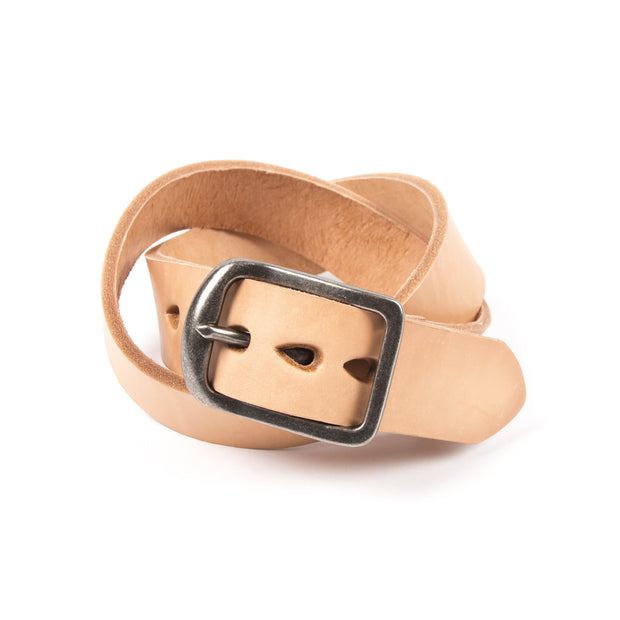 Thick Belt - Natural Tan