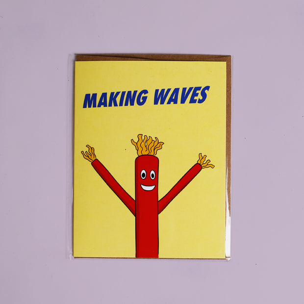 Making Waves Card - Party Mountain Paper Co.