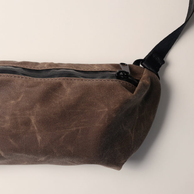 YNOT Sling Pack - Oak Waxed Canvas