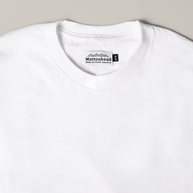Longsleeve Tee - Organic Cotton - White