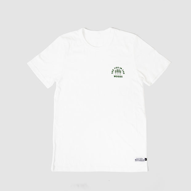 Recycled Tee - Woods - White