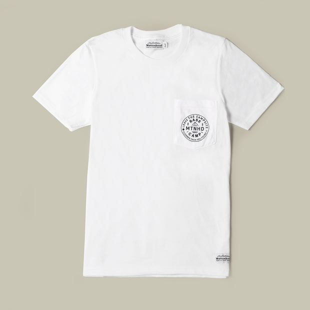 Base Camp Pocket Tee - White