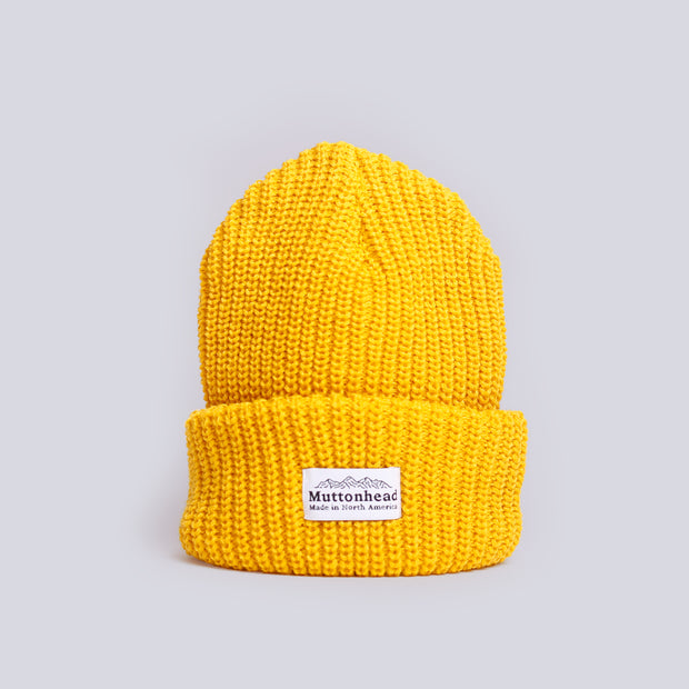 Chunky Toque - Mustard
