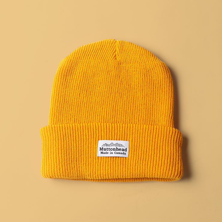 Alpine Knit Toque - Mustard