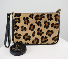 Load image into Gallery viewer, LEOPARD COWHIDE CROSSBODY