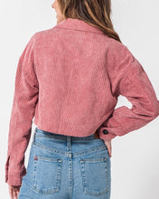 Load image into Gallery viewer, ROSE CORDUROY JACKET