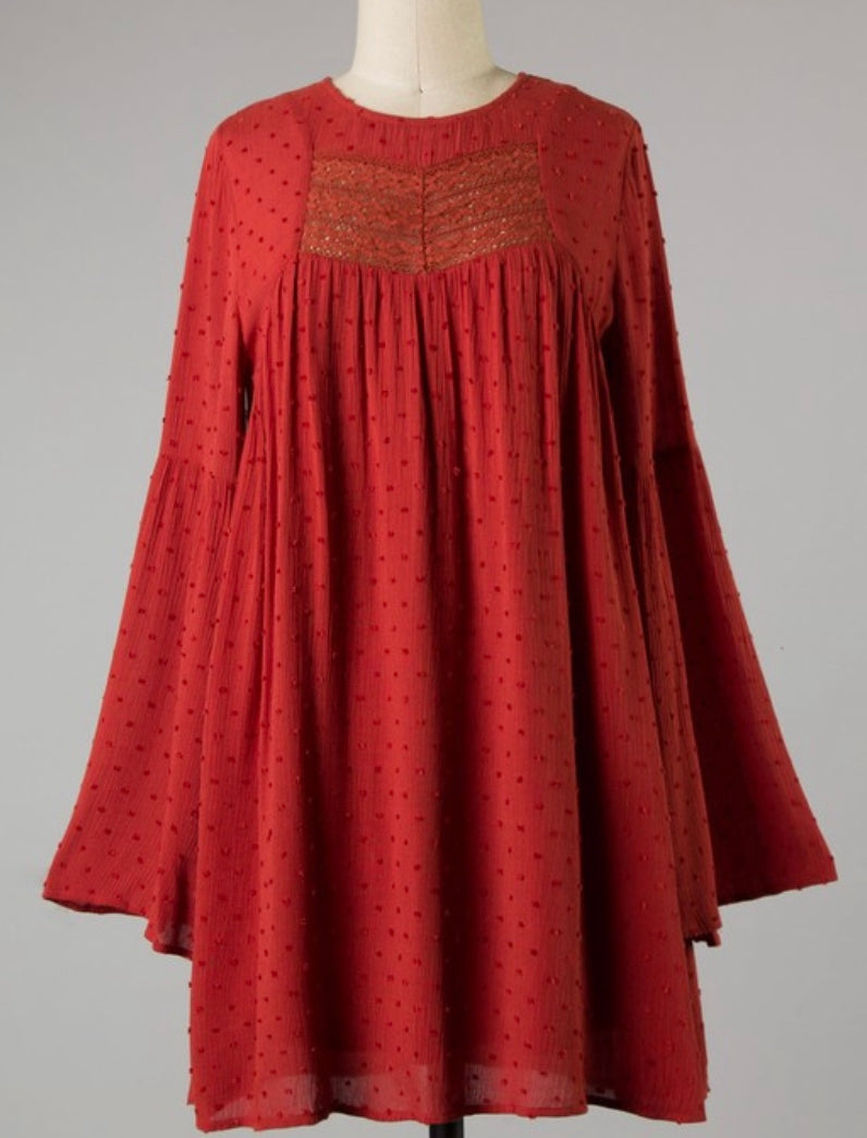 FALL LACE TUNIC