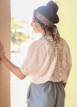 Load image into Gallery viewer, SUMMER ROMANCE WHITE LACE TOP