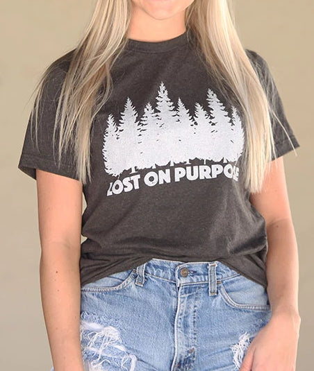 LOST ON PURPOSE T-SHIRT